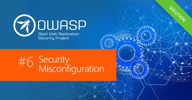 Security Misconfiguration Security Vulnerability | OWASP Top