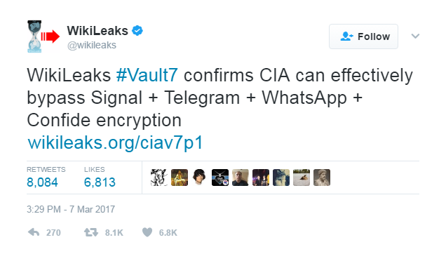 Vault 7 disclosures: Do they add up?