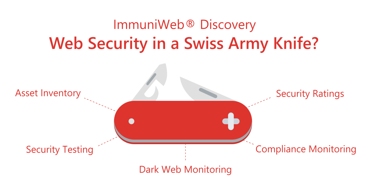 ImmuniWeb Discovery to Reduce Complexity and Costs of DevSecOps and Dark Web Monitoring