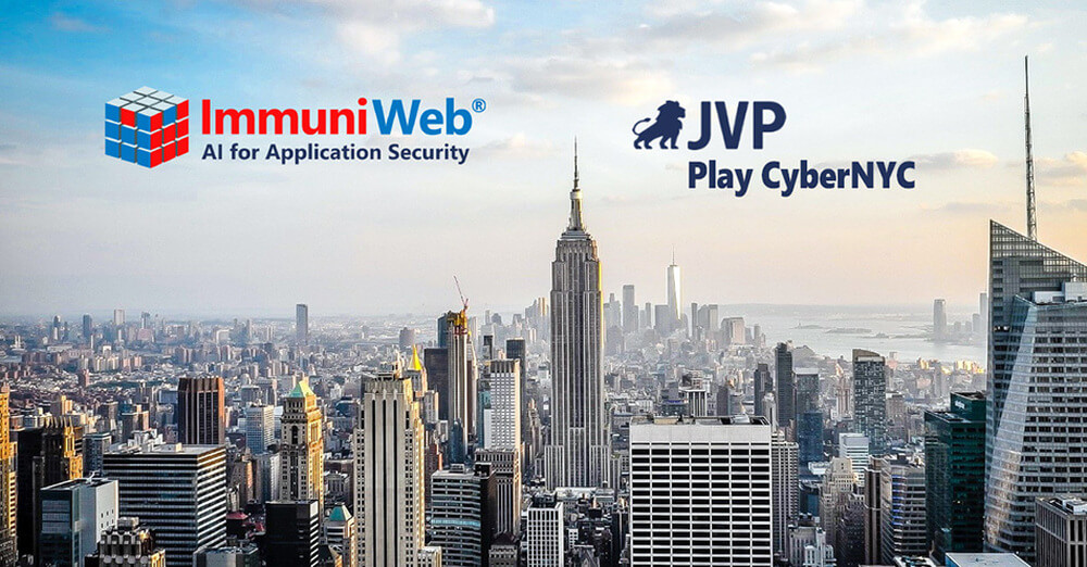 ImmuniWeb Joins JVP Play CyberNYC