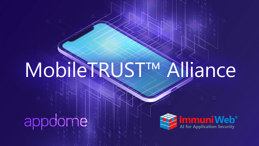 ImmuniWeb to Partner with Appdome in Mobile Application Security