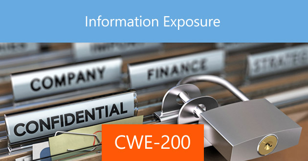 Information Exposure [CWE-200]