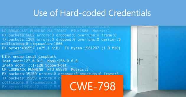 Use of Hard-coded Credentials [CWE-798]
