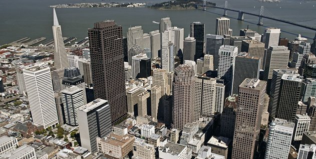 High-Tech Bridge office is located in a high-rise office building in the Financial District of San Francisco