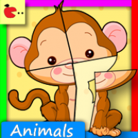 Mobile App Scan of Puzzle Animals for Kids [1 2] for Android