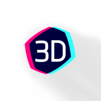 Mobile App Scan of 3D Hologram Background [1 6 5] for Android
